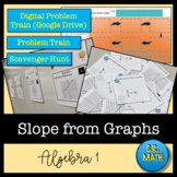 Slope from Graphs: Notes, Problem Train, and Exit Ticket