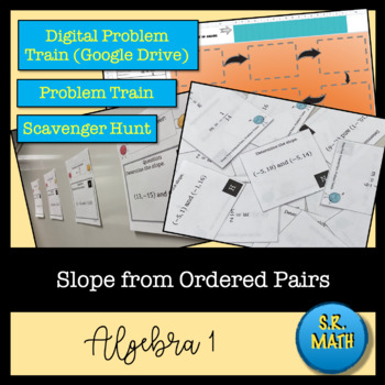 Slope from Ordered Pairs: Notes, Problem Trains, and Exit Ticket