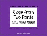 Slope from Two Points Activity