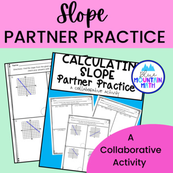 Slope from Two Points Partner Practice