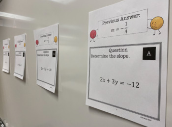 Slope from an Equation: Problem Train
