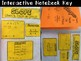 Slope given a Table or Two Points Foldable, INB, Practice, & Exit Ticket
