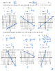 Slope intercept form worksheet homework practice quiz test y=mx+b mx+b