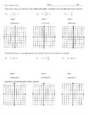 Slope intercept form worksheet homework practice quiz test