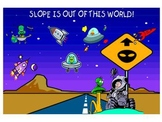 Slope is Out of the World smartboard game