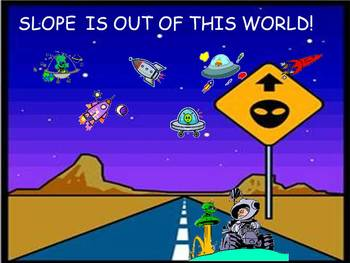 Slope is out of this world powerpoint game
