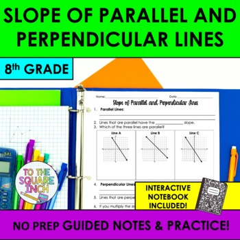Slope of Parallel and Perpendicular Lines Notes