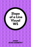 Slope of Parallel and Perpendicular Lines Worksheet