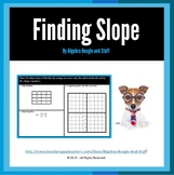 Finding Slope Scaffold Notes
