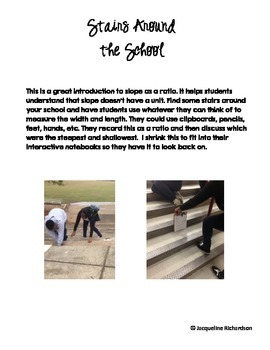 Slope with Stairs Activity