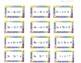 Slope y-intercept and Standard Form Task Cards