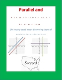 Slopes of Parallel and Perpendicular Lines: An Inquiry-Bas