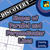 Slopes of Parallel and Perpendicular Lines: Inquiry Activity