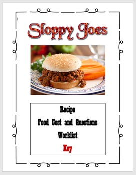 Sloppy Joes Lab