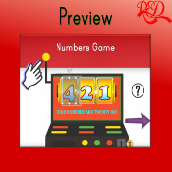Slot Machine Numbers Game (Editable)