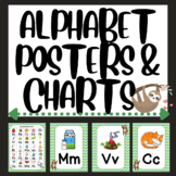 Sloth Alphabet Posters and ABC Chart
