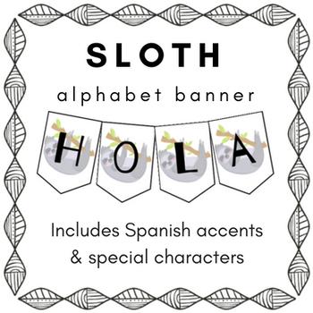 Sloth Banner
