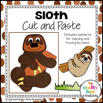 Sloth Cut and Paste