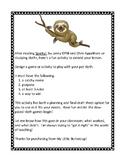 Sloth Games!
