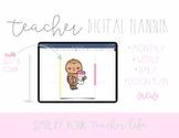 Sloth Teacher Digital Planner for Goodnotes | Teacher Planner | Digital Planner