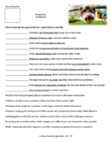 Sloth Themed Grammar Practice with Phrases and Clauses