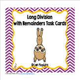Sloths Long Division Task Cards