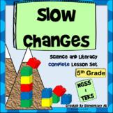 Slow Changes Complete Lesson Set Bundle (NGSS & TEKS)