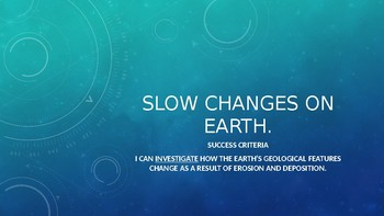 Slow Changes on Earth