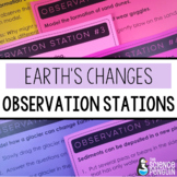 Slow Changes to Earth's Surface Observation Stations