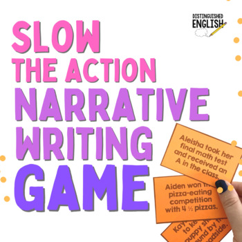 Slow Down the Action Writing Game