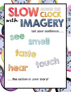 Slow Down the Action Writing Mini Posters