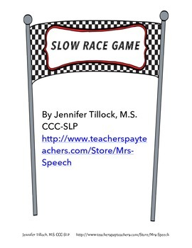 Slow Race Game