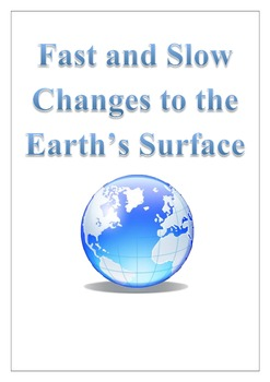 Fast and slow changes teaching resources teachers pay teachers fast and slow changes to the earths surface sciox Gallery