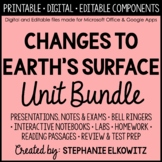 Slow and Rapid Changes to Earth Unit Bundle