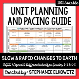 Slow and Rapid Changes to Earth Unit Planning Guide