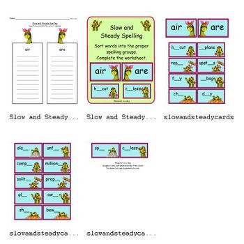 Slow and Steady (Sorting -air -are)