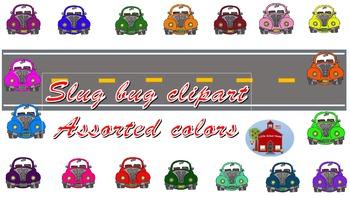 Slug Bug Clipart
