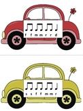Slug Bug Game: Melody, fa practice