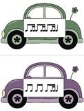 Slug Bug Game: Rhythm, ti-tika practice