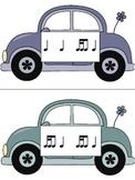 Slug Bug Game: Rhythm, tika-ti practice