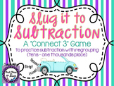 Slug It To Subtraction (Subtraction with Regrouping)