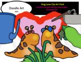 Slug Love Clip Art Pack