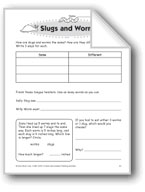 Slugs and Worms (Thinking Skills)