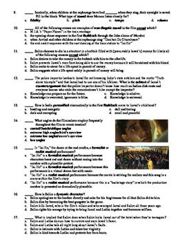 Slumdog Millionaire Film (2008) 20-Question Multiple Choice Quiz
