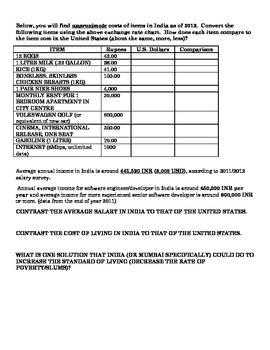 Slumdog Millionaire movie activity (foreign exchange rates)