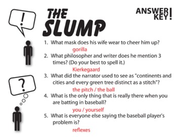 Slump Pop Quiz & Discussion Questions (by John Updike)