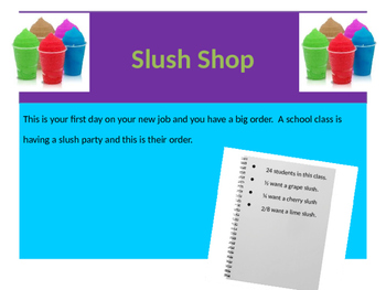 Slush Shop Learning Exploration for Decomposing Fractional Sets