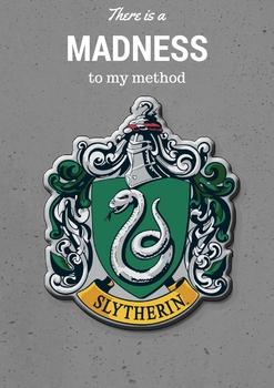 Slytherin House Crest Poster