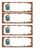 Slytherin Name Tags