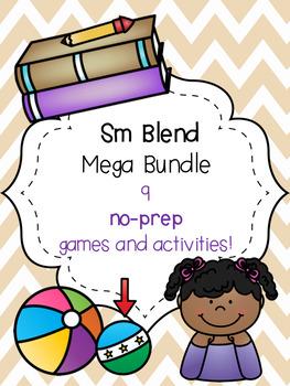 Sm Blend Mega Bundle! [9 no-prep games and activities]